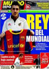 Portada Mundo Deportivo del 1 de Julio de 2010