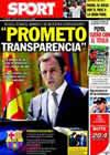 Portada diario Sport del 2 de Julio de 2010