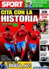 Portada diario Sport del 3 de Julio de 2010