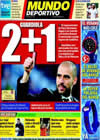 Portada Mundo Deportivo del 3 de Julio de 2010