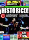Portada Mundo Deportivo del 4 de Julio de 2010