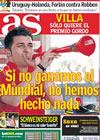Portada diario AS del 6 de Julio de 2010