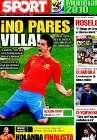 Portada diario Sport del 7 de Julio de 2010