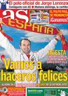 Portada diario AS del 10 de Julio de 2010