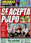 Portada Mundo Deportivo del 10 de Julio de 2010