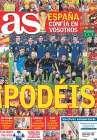 Portada diario AS del 11 de Julio de 2010