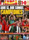 Portada diario Marca del 12 de Julio de 2010