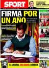 Portada diario Sport del 14 de Julio de 2010