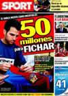 Portada diario Sport del 16 de Julio de 2010