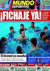 Portada Mundo Deportivo del 16 de Julio de 2010