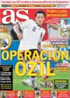 Portada diario AS del 17 de Julio de 2010