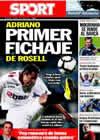 Portada diario Sport del 17 de Julio de 2010