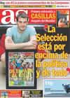 Portada diario AS del 18 de Julio de 2010
