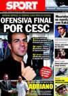 Portada diario Sport del 18 de Julio de 2010