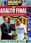Portada Mundo Deportivo del 18 de Julio de 2010