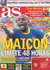 Portada diario AS del 19 de Julio de 2010