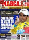 Portada diario Marca del 20 de Julio de 2010