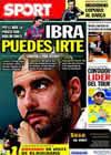 Portada diario Sport del 20 de Julio de 2010