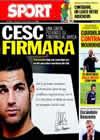 Portada diario Sport del 21 de Julio de 2010