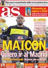 Portada diario AS del 23 de Julio de 2010