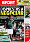 Portada diario Sport del 23 de Julio de 2010