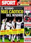 Portada diario Sport del 26 de Julio de 2010