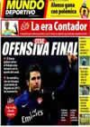 Portada Mundo Deportivo del 26 de Julio de 2010