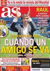 Portada diario AS del 27 de Julio de 2010