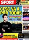 Portada diario Sport del 27 de Julio de 2010