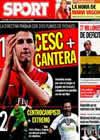 Portada diario Sport del 28 de Julio de 2010