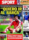 Portada diario Sport del 29 de Julio de 2010
