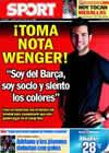 Portada diario Sport del 30 de Julio de 2010