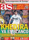 Portada diario AS del 31 de Julio de 2010