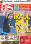 Portada diario AS del 2 de Agosto de 2010