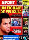 Portada diario Sport del 3 de Agosto de 2010