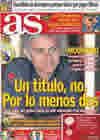 Portada diario AS del 4 de Agosto de 2010