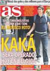 Portada diario AS del 5 de Agosto de 2010