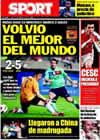 Portada diario Sport del 5 de Agosto de 2010