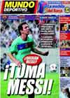 Portada Mundo Deportivo del 5 de Agosto de 2010