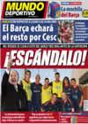 Portada Mundo Deportivo del 6 de Agosto de 2010