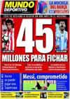 Portada Mundo Deportivo del 7 de Agosto de 2010