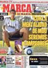 Portada diario Marca del 8 de Agosto de 2010