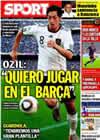 Portada diario Sport del 9 de Agosto de 2010