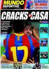 Portada Mundo Deportivo del 9 de Agosto de 2010