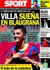 Portada diario Sport del 11 de Agosto de 2010