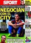 Portada diario Sport del 12 de Agosto de 2010