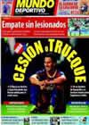 Portada Mundo Deportivo del 12 de Agosto de 2010