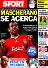 Portada diario Sport del 13 de Agosto de 2010
