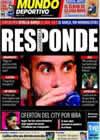 Portada Mundo Deportivo del 14 de Agosto de 2010