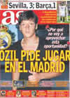 Portada diario AS del 15 de Agosto de 2010
